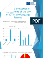 the final evaluation of the it competence students