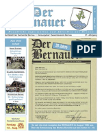 Der Bernauer - August 2015
