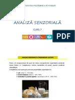 7. Analiză Senzorială-curs 7