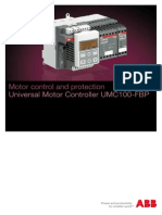 Universal Motor Controller UMC100-FBP 2CDC135011B0202