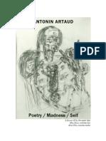 Antonin Artaud - Poetry Madness Self-libre