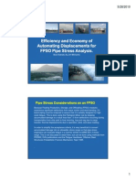 Efficiency and Economy of Automating Displacements for FPSO Pipe Stress Analysis