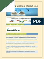Lecturas cuarta Semana de Mayo 2015