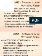 Diagnostico Deterioro de La Movilidad Fisica