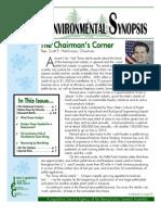February 2010 Environmental Synopsis