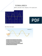 Tutorial Sheet 0