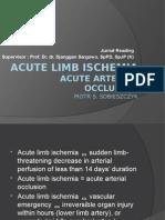 Acute Arterial Occlusion