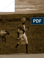 Valuing Variability. New Perspectives on Climate Resilient Drylands Development