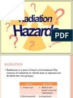 Radiation Hazards 2