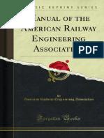 Manual of the American Railway Engineering Association 1000116669
