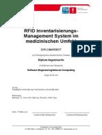 RFID Inventarisierungs-Management System im medizinischen Umfeld