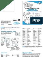 Instrucciones Furby