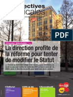 Perspectives Syndicales Août 2015