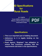 d p Gupta Mord Specifications July 2013