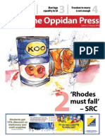 Oppidan Press Edition 7 2015