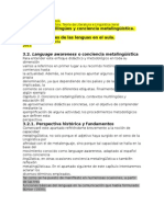 Metalinguistica y comunicacion