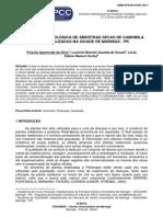 Análise Micro de Camomila - Proj Iniciação
