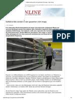 Notfallvorräte Werden in Den Gesamten USA Knapp - Kopp-Verlag