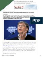 Bill Gates Will Technik Für Ferngesteuerte Sterilisierung Von Frauen - Kopp-Verlag