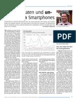 Von Metadaten und unschuldigen Smartphones