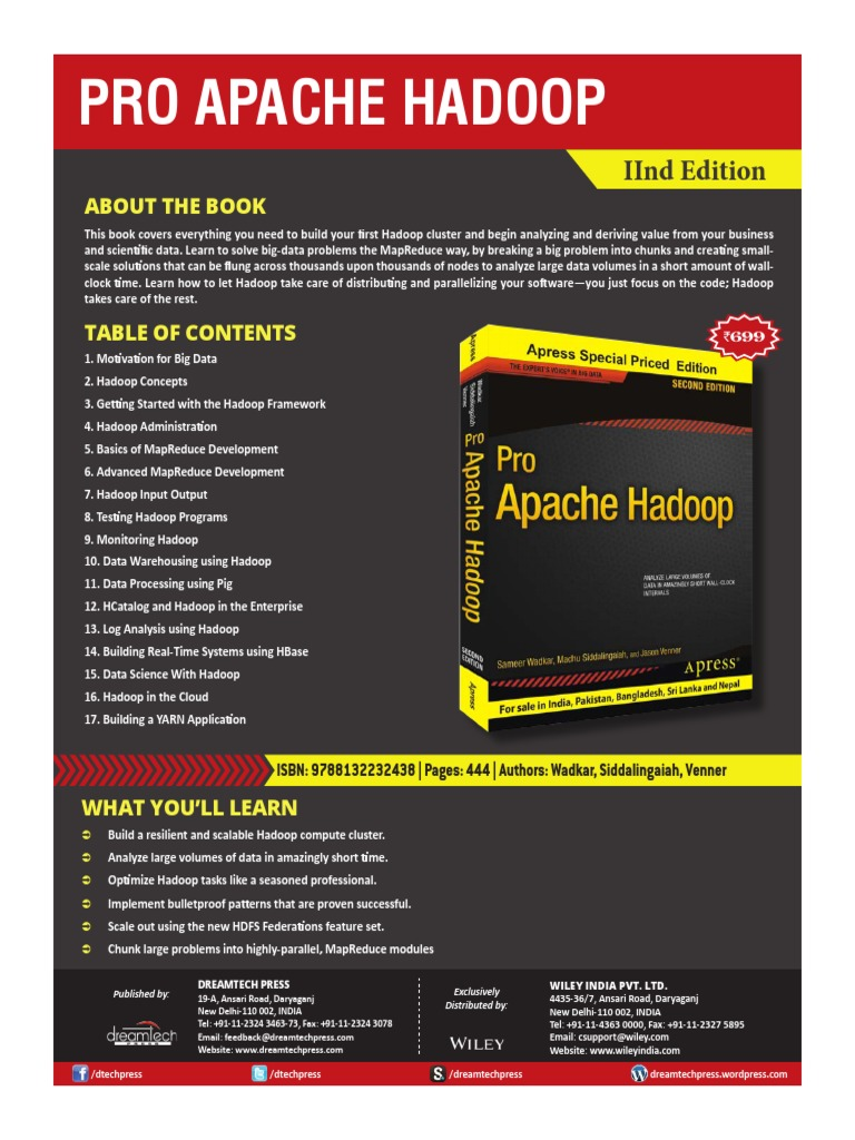 Pro Apache Hadoop (2nd Edition)