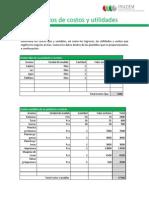 Ejercicios de Costos y Utilidades