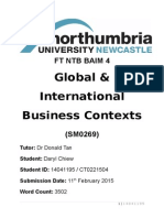 Global & International Business Contexts