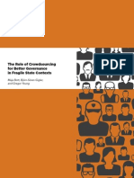 The Role of Crowdsourcing for Better Governance in Fragile State Contexts (The World Bank)