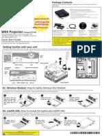 Projector Manual Emea