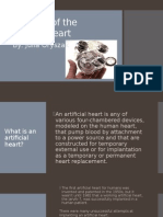 evolution of the artificial heart