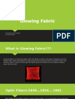 glowing fabric