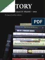 Yale University Press History 2010 Catalog