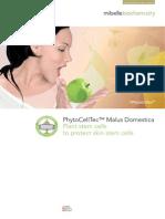 phytocelltec malus domestica - brochure