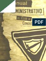 Manual Administrativo Conquistadores 2014