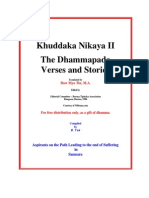 The Dammapada vs and Stories