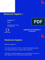 Rel Algebra 1