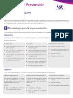 GTL N° 9 - PROGRAMA DE PREVENCIÓN DE RIESGOS