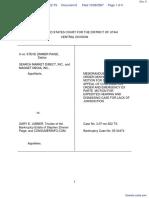 Search Market Direct et al v. Jubber et al - Document No. 6