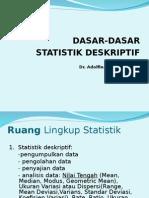 Dasar Statistik Deskriptif