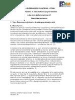 Sales Descomposicion Termsales quimica ica