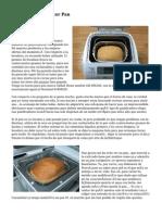 Aprendiendo A Hacer Pan