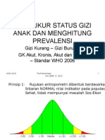 Mengukur Status Gizi