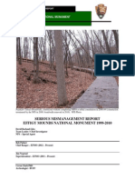 Effigy Mounds Serious Mismanagement Report