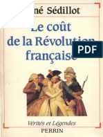Le Cout de La Revolution Francaise
