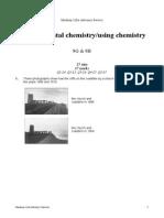 Year 9 - Environmental Chemistry - Using Chemistry