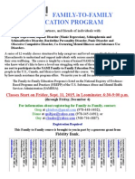 FLYER for Family-To-Family, Leominster, 2015