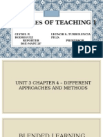 Principles of Teaching 1report