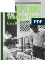 Gary Kasparov Kasparov Teaches Chess
