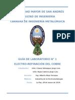 Guia Lab 1 Electrorefinacion cobre