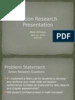 ar project presentation